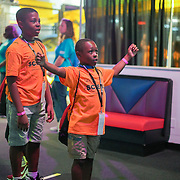 Camp Cardinal 2019 Adventurers at Adventure Science Center. Photo by Alabastro Photography.