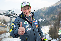 Goran Janus, head coach of Slovenia during the Ski Flying Individual Competition at Day 2 of FIS World Cup Ski Jumping Final, on March 20, 2015 in Planica, Slovenia. Photo by Vid Ponikvar / Sportida