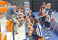 ROTTERDAM - HDM H3  tijdens het Landskampioenschap reserveteam zaal 2013. FOTO KOEN SUYK