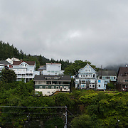 Ketchikan is one of the stops on the Alaskan cruise for the Norwegian Pearl. Cruise ship tourism drives a large part of the local economy from May to September each year along with commercial fishing.<br /> Photography by Jose More
