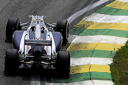 26.11.2011, Autodromo Jose Carlos Pace, Sao Paulo, BRA, F1, Grosser Preis von Brasilien, im Bild Pastor Maldonado (VEN) Williams GP // during the Formula One Championships 2011 Grand Prix of Brazil held at the Autodromo Jose Carlos Pace, Sao Paulo, Brazil on 2011/11/26. EXPA Pictures © 2011, PhotoCredit: EXPA/ nph/ Dieter Mathis..***** ATTENTION - OUT OF GER, CRO *****