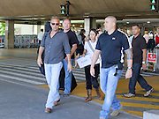 01.DECEMBER.2010. SAO PAULO, BRAZIL<br /> <br /> AMERICAN ACTOR AND MUSICIAN KEVIN COSTNER PICTURED ARRIVING WHITH HIS GUITAR AT GUARULHOS INTERNATIONAL AIRPORT IN SAO PAULO, TO CONTINUE HIS TOUR OF BRAZIL. KEVIN AND HIS BAND, MODERN WEST, ARE SCHEDULED TO PERFORM THREE CONCERTS IN THE TOWN.<br /> <br /> BYLINE: EDBIMAGEARCHIVE.COM<br /> <br /> *THIS IMAGE IS STRICTLY FOR UK NEWSPAPERS AND MAGAZINES ONLY*<br /> *FOR WORLD WIDE SALES AND WEB USE PLEASE CONTACT EDBIMAGEARCHIVE - 0208 954 5968*