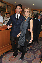 The PAD London 2012 dinner was held at Annabel's, Berkeley Square, London on 10th October 2012.<br /> DAVID GANDY and SARAH WOODHEAD.
