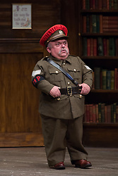 "© Licensed to London News Pictures. 21/02/2014. Bromley, Kent, UK. Scenes from Warwick Davis' New play at the Chrurchill Theatre Bromley - ""See How They Run"". Photo credit : Terry Harris/LNP"