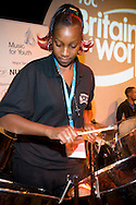 Haringey Young Musicians Steel Orchestra playing at the TUC 2006...© Martin Jenkinson, tel 0114 258 6808 mobile 07831 189363 email martin@pressphotos.co.uk. Copyright Designs & Patents Act 1988, moral rights asserted credit required. No part of this photo to be stored, reproduced, manipulated or transmitted to third parties by any means without prior written permission