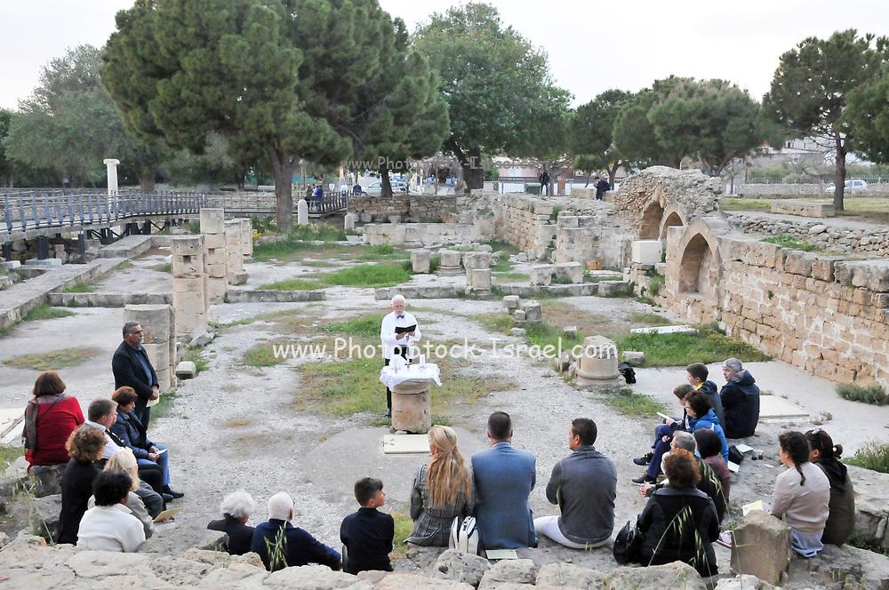 Basilica of Chrysopolitissa (Agia Kyriaki), Paphos, Cyprus