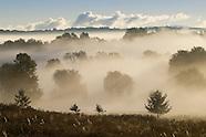 Foggy Sunday morning in Goshen, N.Y.