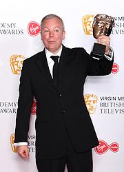 Steve Pemberton in the press room during the Virgin Media BAFTA TV awards, held at the Royal Festival Hall in London. Photo credit should read: Doug Peters/EMPICS