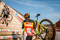 CANT Sanne (BEL) during Women Elite race, UCI Cyclo-cross World Cup #8 at Hoogerheide, Noord-Brabant, The Netherlands, 22 January 2017. Photo by Pim Nijland / PelotonPhotos.com | All photos usage must carry mandatory copyright credit (Peloton Photos | Pim Nijland)