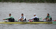 Hammersmith, Greater Game, London, UK. GOLDIE BC I<br /> Elite 4+ competing in the 2015 Fours Head of the River Race, River Thames [ opposite Chiswick Eyot]  Saturday  07/11/2015 <br /> <br /> [Mandatory Credit: Peter SPURRIER: Intersport Images]