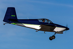 Van's Aircraft RV-7 (N611SE) on approach to Palo Alto Airport (KPAO), Palo Alto, California, United States of America