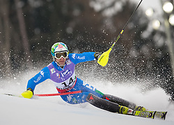 17.02.2013, Planai, Schladming, AUT, FIS Weltmeisterschaften Ski Alpin, Slalom, Herren, 1. Durchgang, im Bild Stefano Gross (ITA) // Stefano Gross of Italy in action during 1st run of the mensSlalom at the FIS Ski World Championships 2013 at the Planai Course, Schladming, Austria on 2013/02/17. EXPA Pictures © 2013, PhotoCredit: EXPA/ Johann Groder