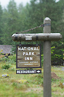 National Historic Landmark District at Longmire on the southwest side of Mt. Rainier National Park
