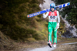 19.12.2014, Nordische Arena, Ramsau, AUT, FIS Nordische Kombination Weltcup, Skisprung, Training, im Bild Tino Edelmann (GER) // during Ski Jumping of FIS Nordic Combined World Cup, at the Nordic Arena in Ramsau, Austria on 2014/12/19. EXPA Pictures © 2014, EXPA/ JFK