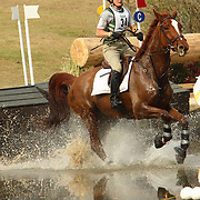 Adrienne Irio (USA) and Outfoxed at the 2007 Red Hills Horse Trials in Tallahassee, Florida