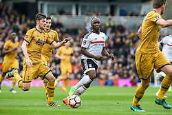Neeskens Kebano of Fulham in action - Mandatory by-line: Jason Brown/JMP - 19/02/2017 - FOOTBALL - Craven Cottage - Fulham, England - Fulham v Tottenham Hotspur - Emirates FA Cup fifth round