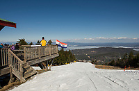 Spring skiing on a bluebird day at Gunstock.   Karen Bobotas for the Laconia Daily Sun