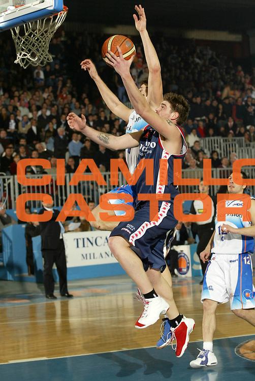 DESCRIZIONE : Cantu Lega A1 2005-06 Vertical Vision Cantu Angelico Biella<br /> GIOCATORE : Cotani<br /> SQUADRA : Angelico Biella<br /> EVENTO : Campionato Lega A1 2005-2006 <br /> GARA : Vertical Vision Cantu Angelico Biella <br /> DATA : 21/01/2006 <br /> CATEGORIA : Tiro <br /> SPORT : Pallacanestro <br /> AUTORE : Agenzia Ciamillo-Castoria/G.Cottini <br /> Galleria : Lega Basket A1 2005-2006<br /> Fotonotizia : Cantu Campionato Italiano Lega A1 2005-2006 Vertical Vision Cantu Angelico Biella<br /> Predefinita :