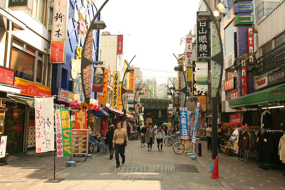 Mar 8, 2006; Tokyo, JPN; Ueno.Shopping along Ameya Yokocho...Photo credit: Darrell Miho