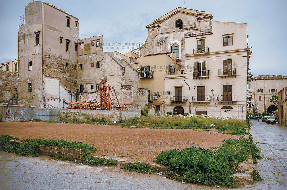 Palermo: quartiere Kalsa.<br /> Palermo: Kalsa district