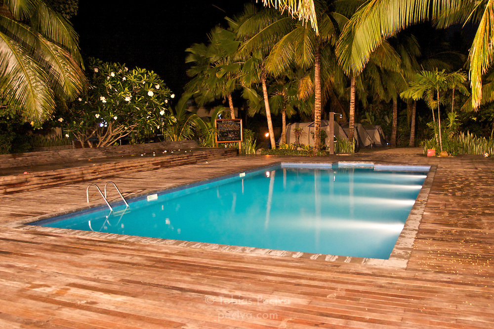 The pool at Octopus Resort on Waya Island. Waya is part of the Yasawa Islands, on the western side of Fiji.