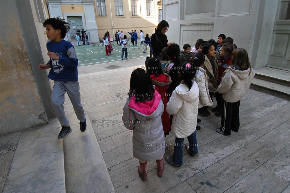 Roma, 14/01/2005: Scuola elementare &quot;Di Donato&quot; - Primary school.<br /> &copy;Andrea Sabbadini