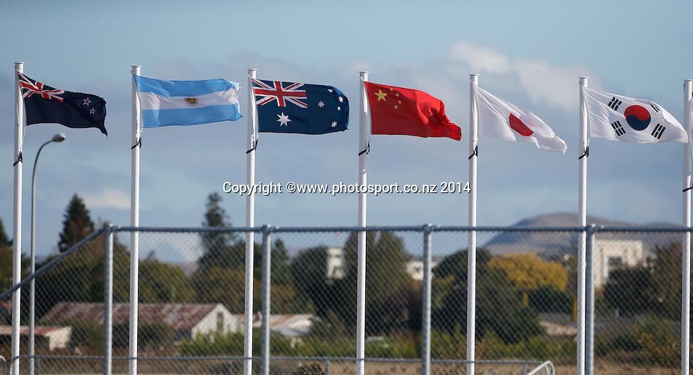 New Zealand Blacksticks women v Korea. Festival of Hockey, Unison Turf, Hastings, New Zealand. Saturday, 05 April, 2014. Photo: John Cowpland / photosport.co.nz