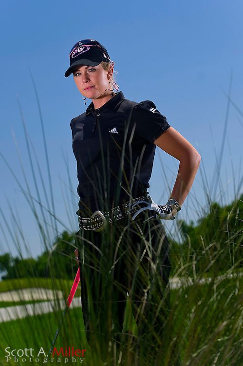 REUNION, FL - April 15: Paula Creamer poses for a portrait during the Ginn Open at Reunion Resort on April 15, 2008 in Reunion, Florida. ©2008 Scott A. Miller