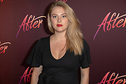 2019, April 15. Pathe ArenA, Amsterdam, the Netherlands. Iris van Loen at the dutch premiere of After.