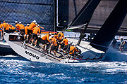 Momo sailing in the  Corfu Challenge, day four.