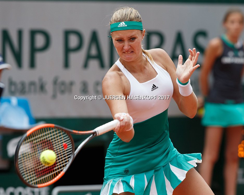 KRISTINA MLADENOVIC (FRA)<br /> <br /> Tennis - French Open 2017 - Grand Slam / ATP / WTA / ITF -  Roland Garros - Paris -  - France  - 2 June 2017.