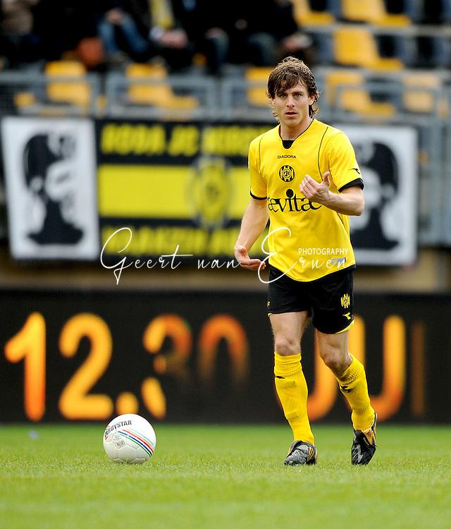 22-03-2009 Voetbal:Roda JC:Ado Den Haag:Kerkrade<br /> Marcel Meeuwis<br /> Foto: Geert van Erven