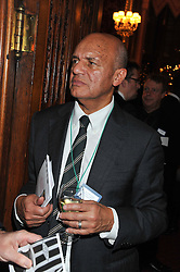 SIR KEITH AJEGBO at a reception for the Stephen Lawrence Charitable Trust hosted by the Speaker of The House of Commons John Bercow and supported by law firm Freshfields Bruckhaus Deringer in The State Rooms, Speaker's House, the House of Commons, London on 19th December 2012.