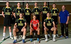 09-10-2012 VOLLEYBAL: PRIMA DONNA KAAS MANNEN: HUIZEN <br /> 2e divisie C PDK Huizen seizoen 2013-2014 / Teamfoto<br /> ©2013-FotoHoogendoorn.nl