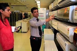 INDIA MUMBAI 29MAY10 - Energy star rated appliances at white goods retail store Vijay Sales in Midway Mumbai, India...jre/Photo by Jiri Rezac..© Jiri Rezac 2010