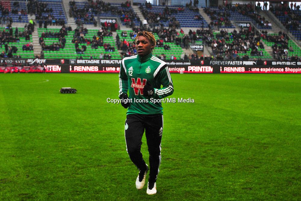 Allan Saint-Maximin  - 18.01.2015 - Rennes / Saint Etienne - 21eme journee de Ligue 1 - <br /> Photo : Philippe Le Brech / Icon Sport