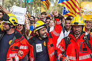 independence rally, Barcelona 28.09.17