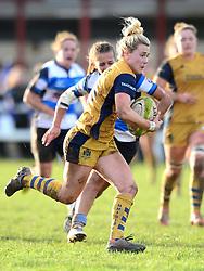 Meg Jones of Bristol Ladies - Mandatory by-line: Dougie Allward/JMP - 11/12/2016 - RUGBY - Cleve RFC - Bristol, England - Bristol Ladies v Darlington Mowden Park Ladies - RFU Women's Premiership