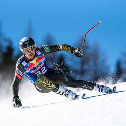 Jared Goldberg of United States of America at the Ski Alpin: 80. Hahnenkamm Race 2020 - Audi FIS Alpine Ski World Cup - Men's Downhill Training at the Streif on January 22, 2020 in Kitzbuehel, AUSTRIA. (Photo by Horst Ettensberger/ESPA/CSM/Sipa USA) - Kitzbuhel (Autriche)