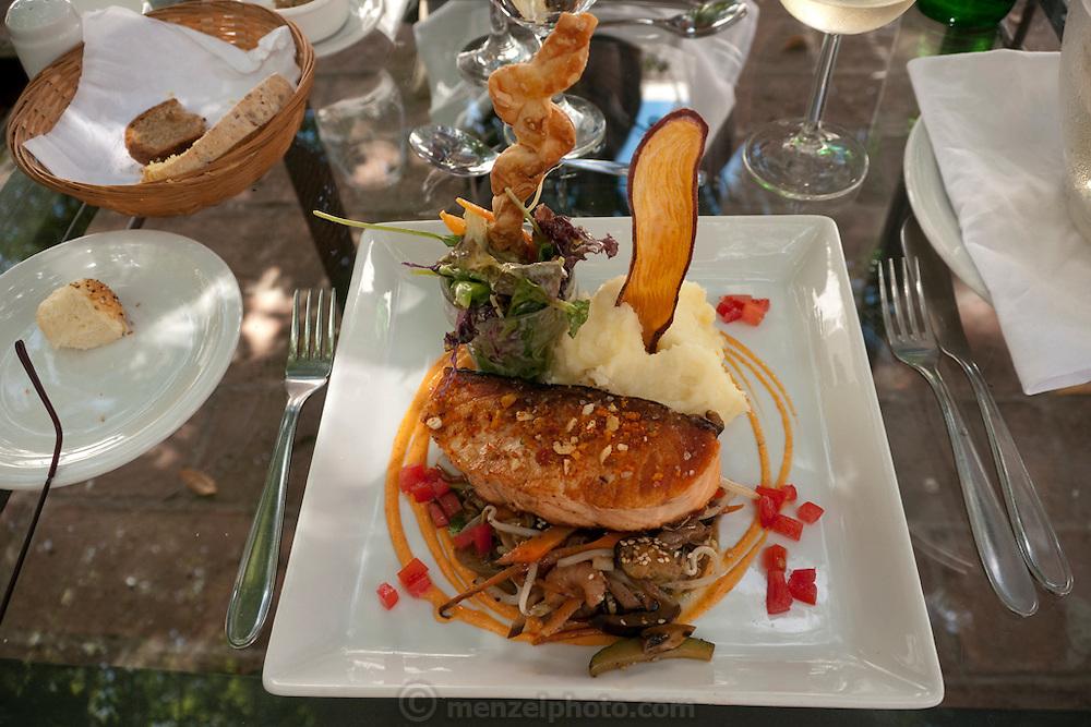 Lunch in El Cloistro Restaurant, Buenos Aires