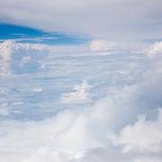 Le ciel au dessus des coureurs