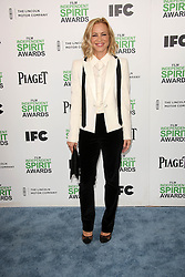 Maria Bello at the 2014 Film Independent Spirit Awards Arrivals, Santa Monica Beach, Santa Monica, United States, Saturday, 1st March 2014. Picture by Hollywood Bubbles / i-Images<br /> UK ONLY