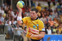 Rok Praznik at MIK First league Handball match between RK Cimos Koper and RD Slovan, on May 9, 2009, in SRC Bonifika, Koper, Slovenia.  (Photo by Vid Ponikvar / Sportida)