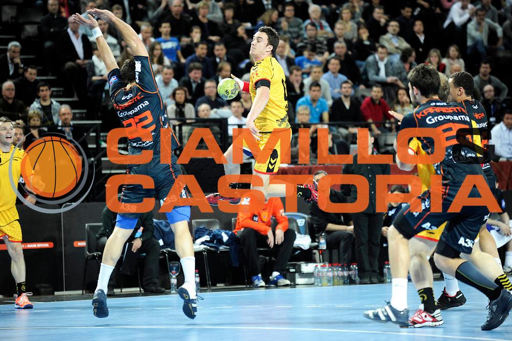 DESCRIZIONE : France Hand D1 Championnat de France D1 a Montpellier Park Suite Arena<br /> GIOCATORE : Basic Edin<br /> SQUADRA : Chambery<br /> EVENTO : FRANCE Hand D1<br /> GARA : Montpellier Chambery<br /> DATA : 01/03/2012<br /> CATEGORIA : Hand D1 <br /> SPORT : Handball<br /> AUTORE : JF Molliere <br /> Galleria : France Hand 2011-2012 Action<br /> Fotonotizia : France Hand D1 Championnat de France D1 a Montpellier<br /> Predefinita :