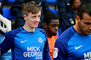 Peterborough United midfielder Chris Forrester (8) walks out before the EFL Sky Bet League 1 match between Peterborough United and Southend United at London Road, Peterborough, England on 3 February 2018. Picture by Nigel Cole.