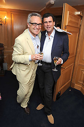Left to right, STEPHEN BAYLEY and TREVOR PICKETT at the Spectator Summer Party held at 22 Old Queen Street, London SW1 on 3rd July 2008.<br /><br />NON EXCLUSIVE - WORLD RIGHTS