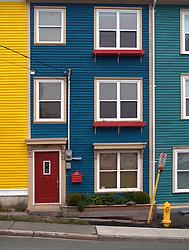 CANADA NEWFOUNDLAND ST JOHN'S 24JUN11 - Colourful houses typical of Newfoundland's capital city St. John's, one of the oldest settlements in North America......jre/Photo by Jiri Rezac..© Jiri Rezac 2011