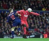 Fotball: Liverpool Emile Heskey and Sunderland Darren Williams.<br /><br />Foto: David Rawcliffe, Digitalsport