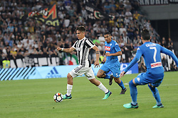 April 22, 2018 - Torino, Piemonte, Italy - in the picture: Dybala..22 April 2018 - Turin, Italy - final match between F.C. Juneventu and SSC Napoli, at the Allianz Stadium in Turin, which is awarded the Scudetto in Serie A in Italy..Napoli wins 1-0. (Credit Image: © Fabio Sasso/Pacific Press via ZUMA Wire)
