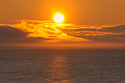 Sunrise on St. Lawrence Bay. Cape Breton Island.<br />